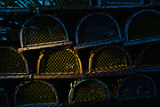 Lobster traps, Boothbay Harbor, ME, for Maine Office of Tourism