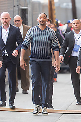 Will Smith seen leaving 'Jimmy Kimmel Live' in Hollywood, CA. 21 May 2019 Pictured: Will Smith. Photo credit: VIPix / MEGA TheMegaAgency.com +1 888 505 6342