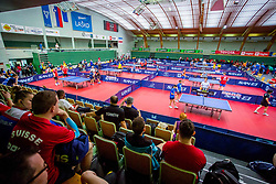 Dvorana Tri Lilije in action during 15th Slovenia Open - Thermana Lasko 2018 Table Tennis for the Disabled, on May 11, 2018 in Dvorana Tri Lilije, Lasko, Slovenia. Photo by Ziga Zupan / Sportida