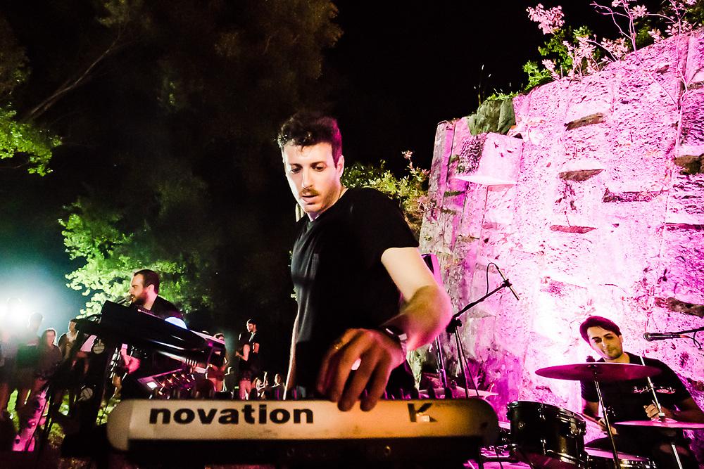 Live durante Cantieri Sonori a Narni.