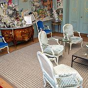 NLD/Den Haag/20190703 - Bezichtiging kamers paleis Huis ten Bosch, De vernieuwde Groene Salon