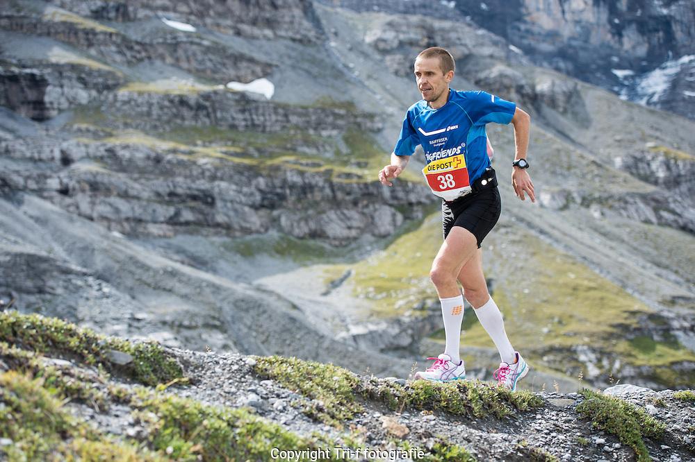 Urs Jens am 21. Jungfrau-Marathon 2013