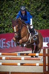 Leprevost Penelope (FRA) - Sultane Des Ibis<br /> Tropheo Coca Cola<br /> Furusiyya FEI Nations Cup™ Final - Barcelona 2014<br /> © Dirk Caremans