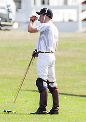 Prince William  Playing in the Audi Polo Challenge Charity Polo match at Coworth Polo Club, Ascot, United Kingdom<br /> Saturday, 3rd August 2013<br /> Picture by Rupert Hartley / i-Images
