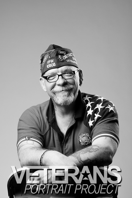 Blane Gish<br /> Army<br /> E-5<br /> Infantry<br /> 1981 - 1987<br /> Germany<br /> <br /> Veterans Portrait Project<br /> St. Louis, MO