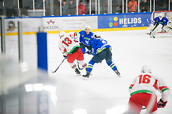 Ziga Jelgic during Ice Hockey match between National teams of Slovenia and Belarus at International tournament Euro ice hockey Challenge 2019, on February 9, 2019 in Ice Arena Bled, Slovenia. Photo by Peter Podobnik / Sportida
