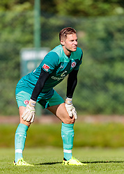 12.07.2017, Sportplatz Buergerau, Saalfelden, AUT, Testspiel, FC Pinzgau vs FC St. Pauli, im Bild Philipp Heerwagen (FC St. Pauli) // during the Friendly Football Match between FC Pinzgau and FC St. Pauli at the Stadion Buergerau, Saalfelden, Austria on 2017/07/12. EXPA Pictures © 2017, PhotoCredit: EXPA/ JFK