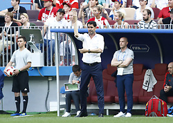 July 1, 2018 - Moscow, Russia - Round of 16 Russia v Spain - FIFA World Cup Russia 2018.Coach of Spain Fernando Hierro at Luzhniki Stadium in Moscow, Russia on July 1, 2018. (Credit Image: © Matteo Ciambelli/NurPhoto via ZUMA Press)