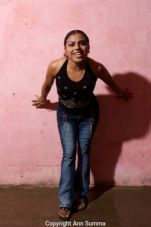 """Muxe, or transvestites, living in the Isthmus of Oaxaca, refer to themselves as the """"third sex."""" The region is known for its tolerance and the matriarchal society which still exists in the Zapotec culture."""