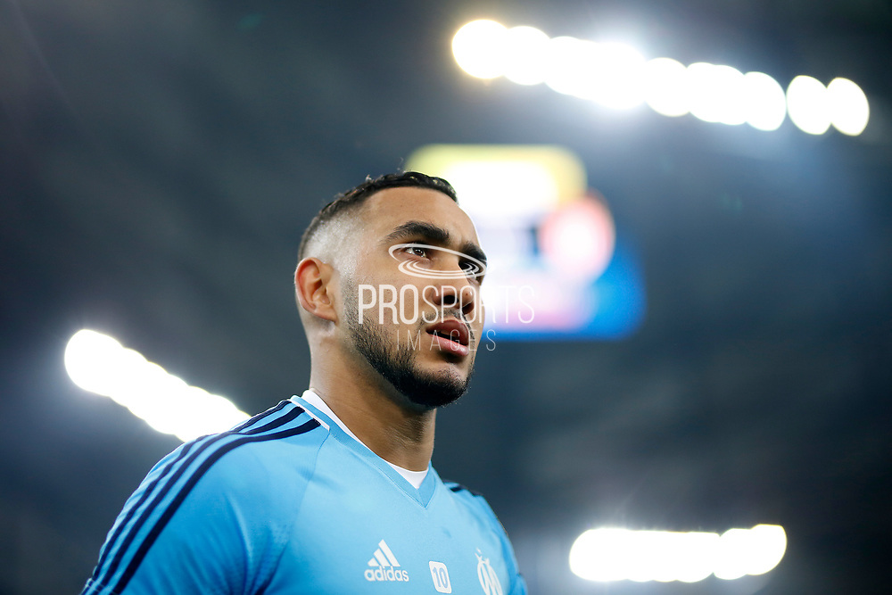 Olympique de Marseille's French forward Dimitri Payet reacts during the French Championship Ligue 1 football match between Olympique de Marseille and AS Monaco on January 28, 2018 at the Orange Velodrome stadium in Marseille, France - Photo Benjamin Cremel / ProSportsImages / DPPI
