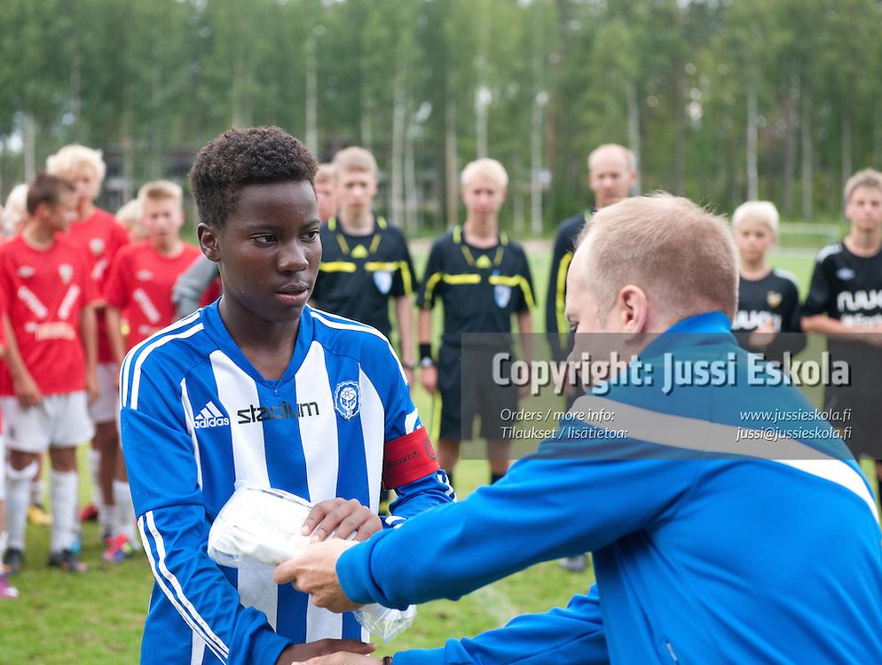 Obeb Malolo. HJK - KäPa/United. Premier Cup. Finaali. Pajulahti 14.8.2011. Photo: Jussi Eskola