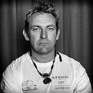 PORTUGAL, Lisbon. 31st May 2012. Volvo Ocean Race, Leg 7 (Miami-Lisbon) finish. Julian Salter, Navigator, Abu Dhabi Ocean Racing.