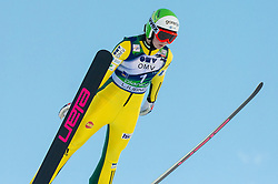 KLINEC Barbara of Slovenia competes during 11th Women FIS Ski Jumping World Cup competition in Planica replacing Ljubno  on January 25, 2014 at HS95, Planica, Slovenia. Photo by Vid Ponikvar / Sportida