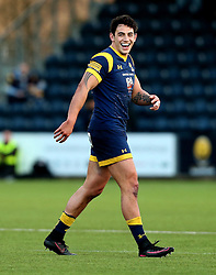 Bryce Heem of Worcester Warriors smiles - Mandatory by-line: Robbie Stephenson/JMP - 28/01/2017 - RUGBY - Sixways Stadium - Worcester, England - Worcester Warriors v Harlequins - Anglo Welsh Cup