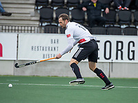 AMSTELVEEN - Mirco Pruyser (Adam)   tijdens  de hoofdklasse hockeywedstrijd Amsterdam-HC Rotterdam (7-1).    COPYRIGHT KOEN SUYK