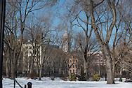 New York. Tomkins square garden park  Manhattan