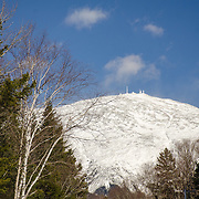 Winter recreation activities in the Mount Washington Valley, NH