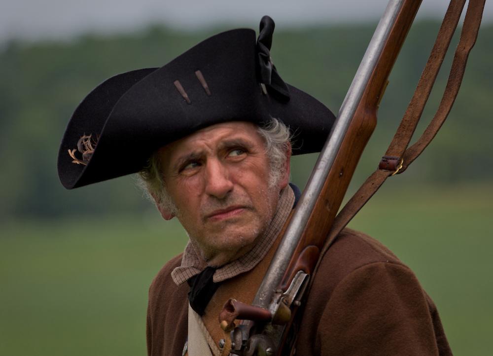 Battle of Monmouth Revolutionary War reenactment, Monmouth Battlefield State Park, Manalapan, New Jersey