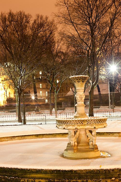 Paris, France. 8 Decembre 2010.7eme Arrondissement..Paris, France. December 8th 2010.7th Arrondissement