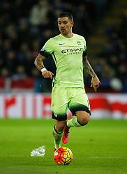 Aleksandar Kolarov of Manchester City  - Mandatory byline: Jack Phillips/JMP - 07966386802 - 29/12/2015 - SPORT - FOOTBALL - Leicester - King Power Stadium - Leicester City v Manchester City - Barclays Premier League