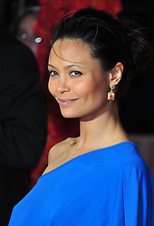 © Licensed to London News Pictures. 07/02/2012.  England. Thandie Newton attends new film release- The Best Exotic Marigold Hotel , World Premiere at the Curzon Cinema in London Photo credit : ALAN ROXBOROUGH/LNP