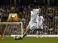 Photo: Olly Greenwood.<br />Tottenham Hotspur v Dinamo Bucuresti. UEFA Cup. 14/12/2006. Spurs Dimitar Berbatov scores
