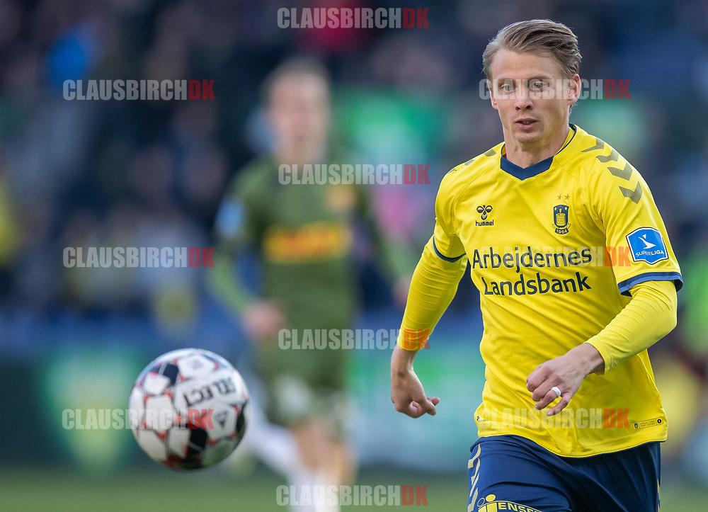 FODBOLD: Simon Hedlund (Brøndby IF) under kampen i Superligaen mellem Brøndby IF og FC Nordsjælland den 13. maj 2019 på Brøndby Stadion. Foto: Claus Birch.
