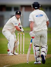 Napier-Cricket, Plunket Shield, Central Districts v Wellington, October 29