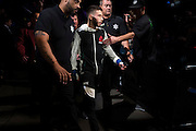 LAS VEGAS, NV - JULY 8:  Matheus Nicolau walks to the Octagon during The Ultimate Fighter Finale at MGM Grand Garden Arena on July 8, 2016 in Las Vegas, Nevada. (Photo by Cooper Neill/Zuffa LLC/Zuffa LLC via Getty Images) *** Local Caption *** Matheus Nicolau