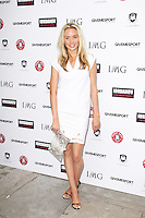 Noelle Reno, Give Me Sport Magazine - Launch Party, Library St Martin's Lane, London UK, 30 July 2014, Photo by Brett D. Cove