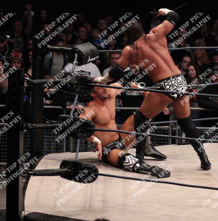 TNA WRESTLING, IMPACT WRESTLING, WEMBLEY LONDON, TNA, WRESLING, PIC:CHRIS SARGEANT