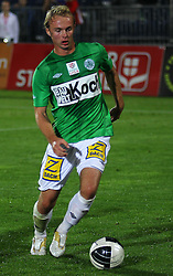 01.10.2011, Stadion, Wiener Neustadt, AUT, 1. FBL, SC Wiener Neustadt vs SV Mattersburg, im Bild Lukas Rath, (SV Mattersburg, #18) ) // during the Austrian Bundesliga Match, SC Wiener Neustadt against SV Mattersburg, Stadium, Wiener Neustadt near Vienna, Austria on 2011-10-01, EXPA Pictures © 2011, PhotoCredit: EXPA/ S. Woldron