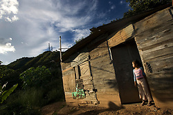 Daily life in coche, a poor hillside slum in southwest caracas