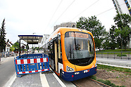Erste Fahrt der Stadtbahn Nord