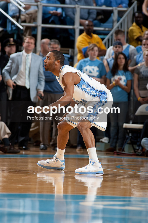 07 January 2009: North Carolina Tar Heels guard Wayne Ellington (22) during a 108-70 win over the College of Charleston Cougars at the Dean Smith Center in Chapel Hill, NC.