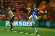 Everton defender Seamus Coleman  during the Capital One Cup match between Middlesbrough and Everton at the Riverside Stadium, Middlesbrough, England on 1 December 2015. Photo by Simon Davies.