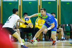 Nejc Cehte of Slovenia during Handball friendly match between Slovenia and Iran, on January 4, 2018 in Dol pri Hrastniku, Dol pri Hrastniku, Slovenia. Photo by Ziga Zupan / Sportida