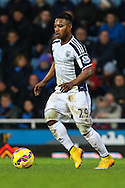 Stephane Sessegnon of West Bromwich Albion during the Barclays Premier League match at the Boleyn Ground, London<br /> Picture by David Horn/Focus Images Ltd +44 7545 970036<br /> 01/01/2015