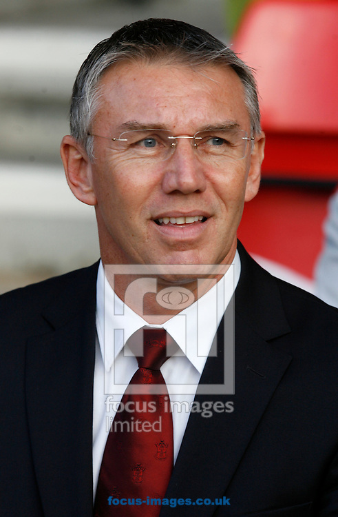 Picture by Daniel Chesterton/Focus Images Ltd. 07966 018899.19/11/11.Southampton manager Nigel Adkins during the Npower Championship match at St Marys Stadium, Southampton.