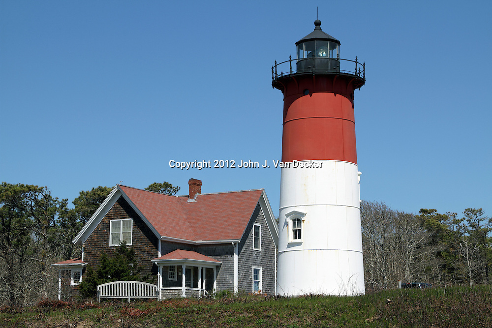 Nauset Beach Light, Eastham, Cape Cod, Massachusetts, USA