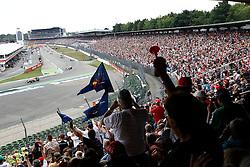 Motorsports / Formula 1: World Championship 2010, GP of Germany, fans, Zuschauer, Fankurve, start