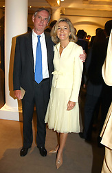 LORD & LADY ASTOR OF HEVER at auctioneers Sotheby's Summer party held at their showrooms in 34-35 New Bond Street, London W1 on 6th June 2005.<br />