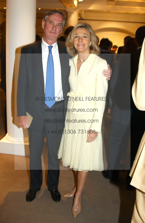 LORD &amp; LADY ASTOR OF HEVER at auctioneers Sotheby's Summer party held at their showrooms in 34-35 New Bond Street, London W1 on 6th June 2005.<br />