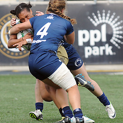 Staff photos by Tom Kelly IV<br /> Penn State University takes on Lindenwood University in the Collegiate Rugby Championship Tournament Final at PPL Park in Chester, Sunday afternoon.