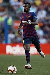 September 29, 2018 - Barcelona, Barcelona, Spain - Nelson Semedo of FC Barcelona during the La Liga match between FC Barcelona and Athletic Club de Bilbao at Camp Nou on September 29, 2018 in Barcelona, Spain  (Credit Image: © David Aliaga/NurPhoto/ZUMA Press)