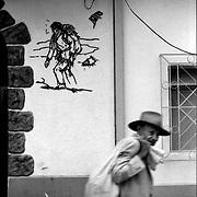 DAILY VENEZUELA / VENEZUELA COTIDIANA.Merida Center, Merida State. Venezuela 2000.(Copyright © Aaron Sosa)