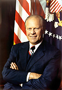 Gerald Rudolph Ford, Jr. (born Leslie Lynch King, Jr.; July 14, 1913 – December 26, 2006) was the 38th President of the United States, serving from 1974 to 1977, and the 40th Vice President of the United States serving from 1973 to 1974.