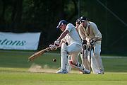 Bishops's Stortford v West Herts, Cricketfield Lane, Bishop's Stortford, UK on 17 May 2014. Photo: Simon Parker