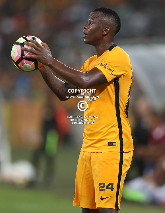 DURBAN, SOUTH AFRICA - FEBRUARY 18: Tsepo Masilela of Kaizer Chiefs during the Absa Premiership match between Kaizer Chiefs and Highlands Park at Moses Mabhida Stadium on February 18, 2017 in Durban, South Africa. (Photo by Steve Haag/Gallo Images)