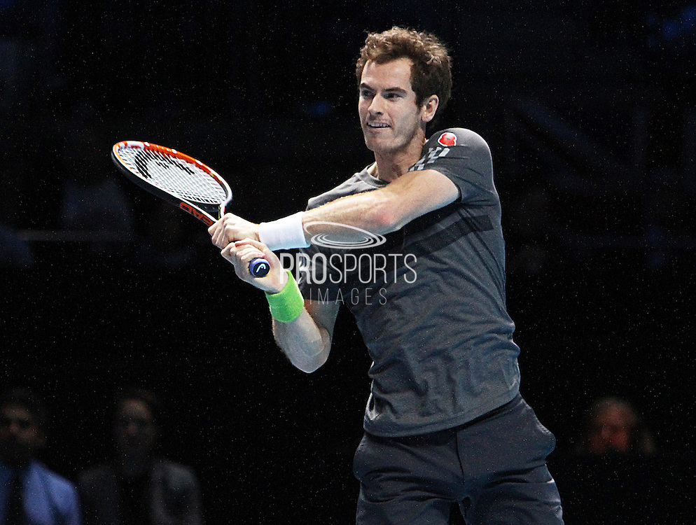 Great Britain's Andy Murray during the Roger Federer vs Andy Murray match at the Barclays ATP World Tour Finals, O2 Arena, London, United Kingdom on 13th November 2014 © Phil Duncan | Pro Sports Images